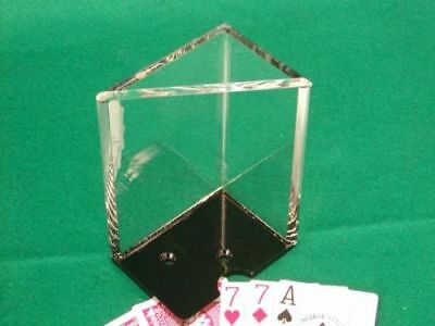 6 Deck Casino Professional Playing Card Blackjack Dealer Discard Tray New
