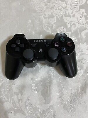 Original Sony Sixaxis OEM Playstation 3 Wireless Controller PS3 Black tested