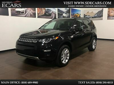 2016 Land Rover Discovery HSE 2016 Black HSE!