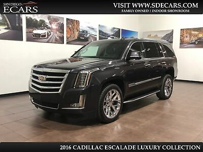 2016 Cadillac Escalade Luxury Collection 2016 Gray Luxury Collection!