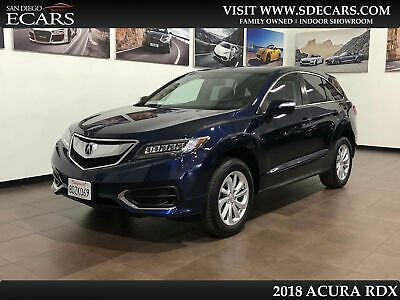 2018 Acura RDX w/Technology Pkg 2018 Blue w/Technology Pkg!