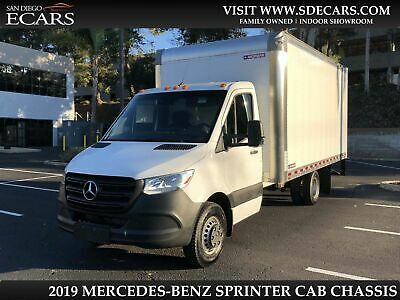 2019 Mercedes-Benz Sprinter Box Truck 2019 White Box Truck!