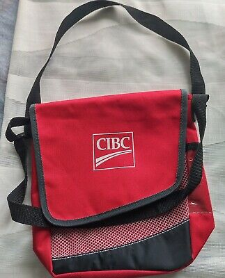 Insulated snack or lunch bag with CIBC logo