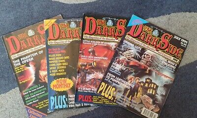 The Darkside- Magazine lot of 4 - Issues 1/44/46/47