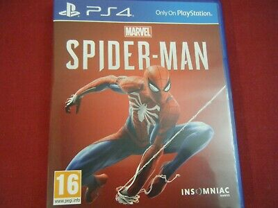 Marvel Spider-Man Playstation 4 Game Never Been Played