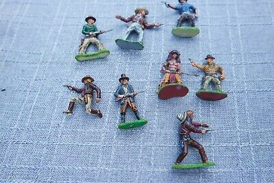 Massefiguren 8x Cowboys 5 cm