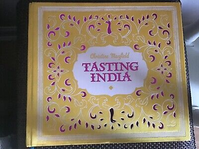 Tasting India by Christine Manfield (Hardback, 2011)Beautiful Book. Unread .