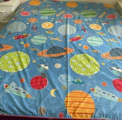 Double Bed Doona Cover with Spaceships