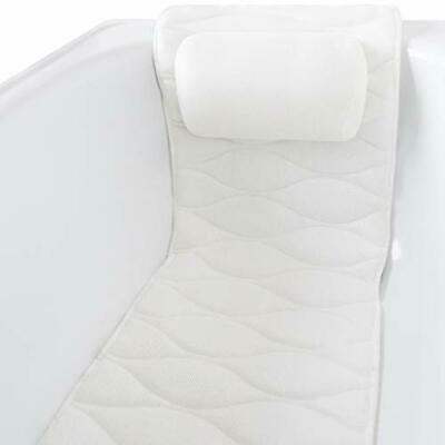 Spa Bath Pillow Waterproof: Full Body Bath Pillows For Head And Neck With