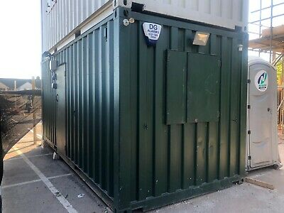 20 Ft Portable Office Container Anti Vandal Cabin Welfare Unit