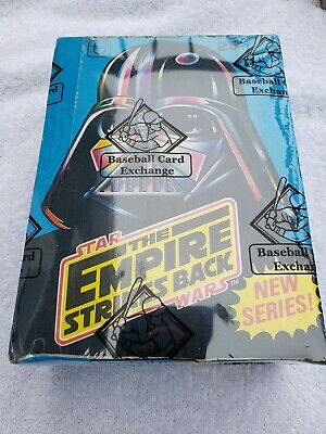 Empire Strikes Back Series 2 Trading Card Box BBCE Certified And Sealed