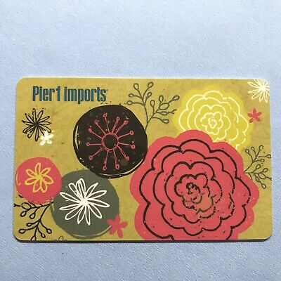Pier 1 Imports Gift Card $25 Value Free Ship