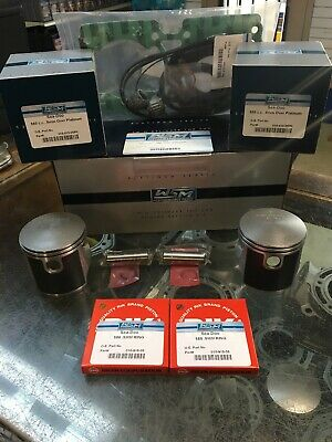 """92'-96' Sea-doo 580 Top End Kit, Pistons Gaskets .50mm / .020"""" O/S 76.50mm Bore"""