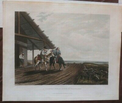 Essex Vidal, Picturesque illustrations of Buenos Ayres. A country public 1820