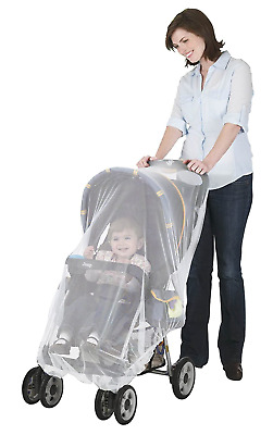 2PACK Baby Mosquito Net for Stroller Car Seat Infant Bug Protection Insect Cover