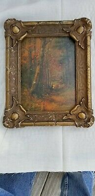 Antique 19th Century Oil Painting By Listed American Artist (Anton Von Beust)