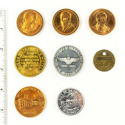 Small Group Of Medals - 8 Pieces