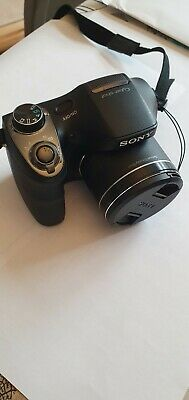 Sony Cyber-shot DSC-H300 20.1MP Digital Compact Camera - Black