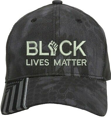 Black Lives Matter I Can't Breathe Embroidered One Size Fits All Baseball Hats