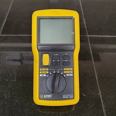 AEMC 1035 Digital Analog Megohmmeter - Perfect Condition