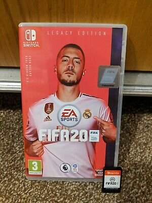 FIFA 20 Legacy Edition Nintendo Switch Video Game