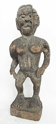 ALOR ISLAND STATUETTE ETHNOGRAPHIC ARTIFACT INDONESIA early 20th C