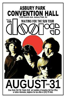 THE DOORS 1680  ASBURY PARK NJ Convention Hall POSTER/SIGN by THouse