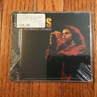 The Doors, The Ceremony Continues. A rare interview w/Jim Morrison, Sealed, CD,
