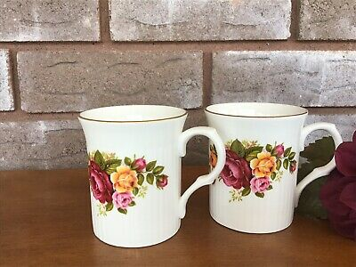 Red Yellow Roses Coffee Cup Royal Castle Fine Bone China