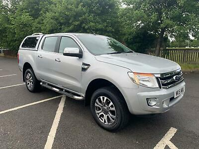2015 Ford Ranger 2.2 TDCi Limited 2 Double Cab Pickup 4x4 4dr (EU5)