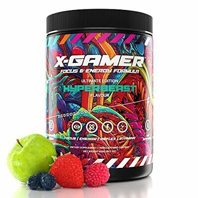 X-Gamer X-Tubz - Gaming Booster Pulver - Shake It Yourself - 600g (60 Servings