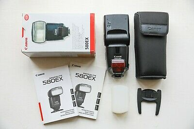 Canon Speedlite 580EX Shoe Mount Flash with Sto-Fen Omni-Bounce