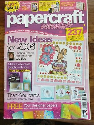 Papercraft Essentials Magazine Issue 36