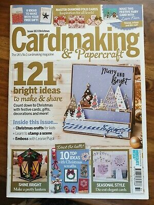 Cardmaking and Papercraft Magazine Issue 163