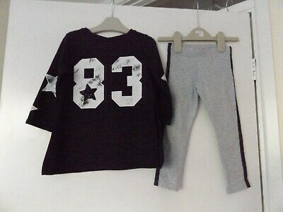 Next outfit / set top / jumper and leggings aged 3 years