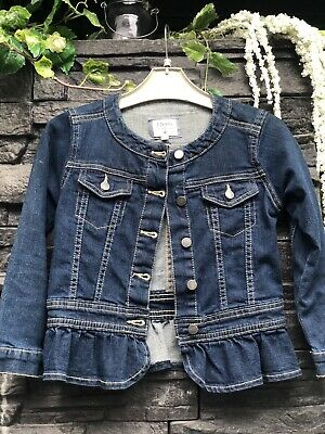 Jasper Conran Girls Denim Jacket Age 7