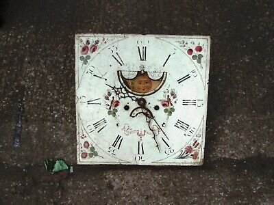 Grand father clock face and movement