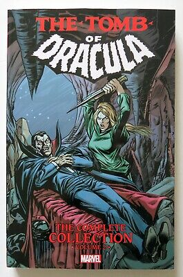 The Tomb of Dracula Complete Collection Vol. 2 Marvel Graphic Novel Comic Book