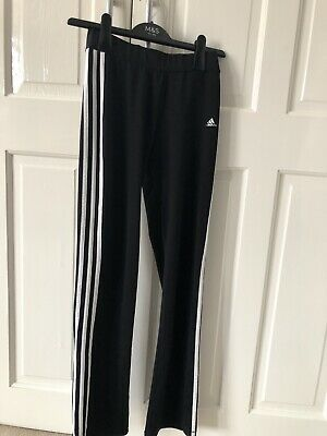 Girls Adidas Climalite Tracksuit Joggers/Trousers 13-14 Years Good Condition