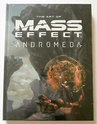 The Art of Mass Effect Andromeda Hardcover NEW Graphic Novel Comic Book