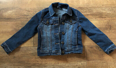 George Girls Denim Jacket Age 5-6