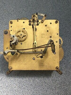 Westminster Anvil Clock Movement Dial Spares Repairs Brass (A) 5 Hammers