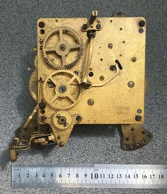 Westminster Haller Clock Movement Dial Spares Repairs Brass (H)5 Hammers