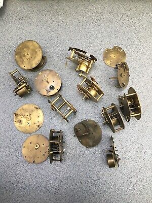 French Clock Movements Bundle Job Lot Parts Spare Repairs Japy Freres