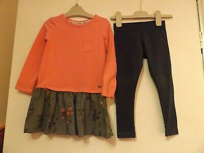 Next outfit / set dress and leggings aged 3 years