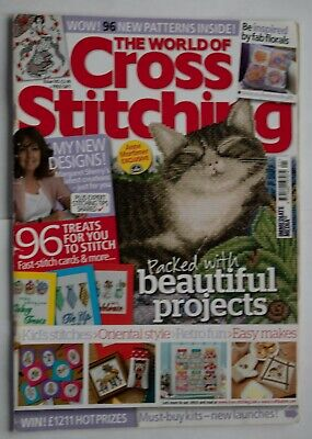 The World of Cross Stitching Magazine Issue 185