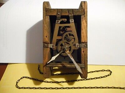 Vintage windmill clock movement for parts or spares