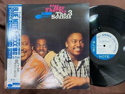 THE THREE SOUNDS HEY THERE BLUE NOTE BST 84102 OBI STEREO JAPAN Vinyl LP