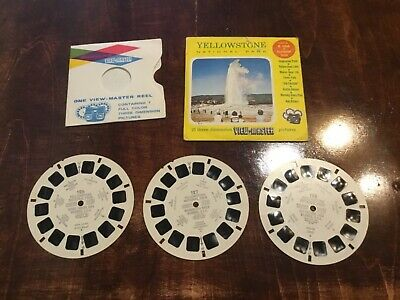 Sawyers View Master Yellowstone National Park A306