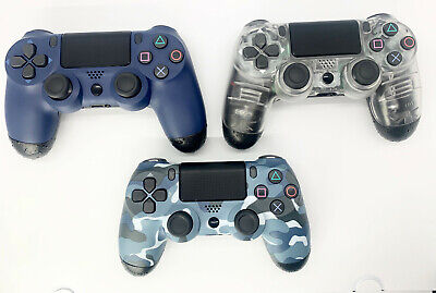 Custom Wireless Controller for PlayStation Dualshock 4 PS4 Remote - No Slip Grip